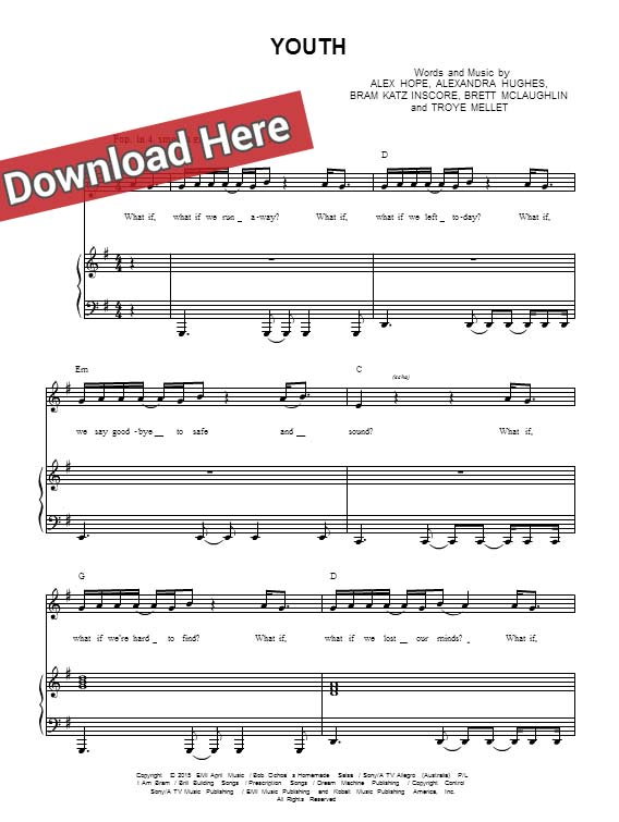 troye sivan, youth, sheet music, chords, piano notes, score, tutorial, lesson, cover, keyboard, guitar, tabs, bass, cleff, how to play